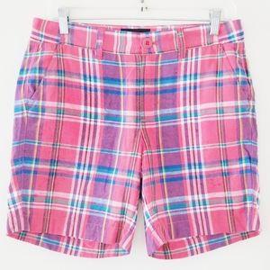 J Crew black label burmuda plaid shorts